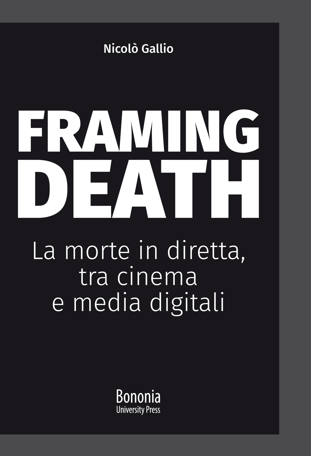 Framing Death - Bononia University Press