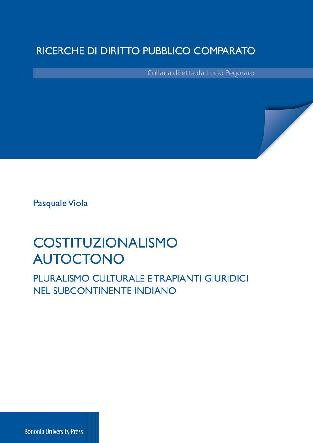 Costituzionalismo autoctono - Bononia University Press