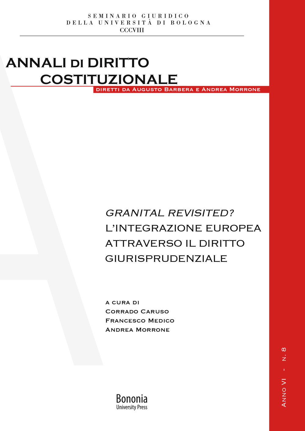 Granital Revisited? - Bononia University Press