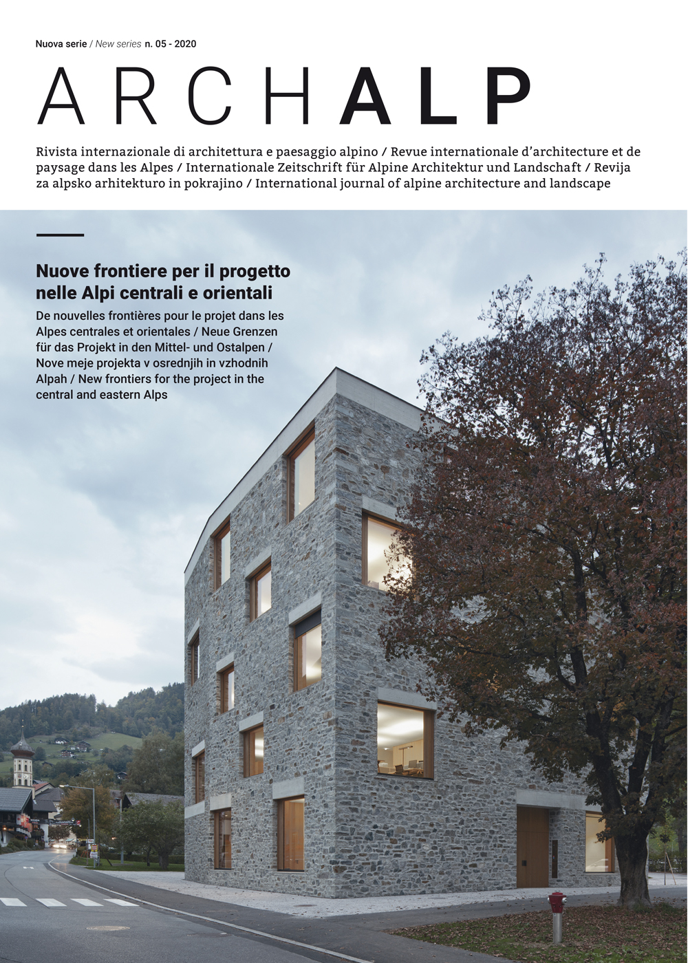 ArchAlp n. 05 dicembre 2020 - Bononia University Press