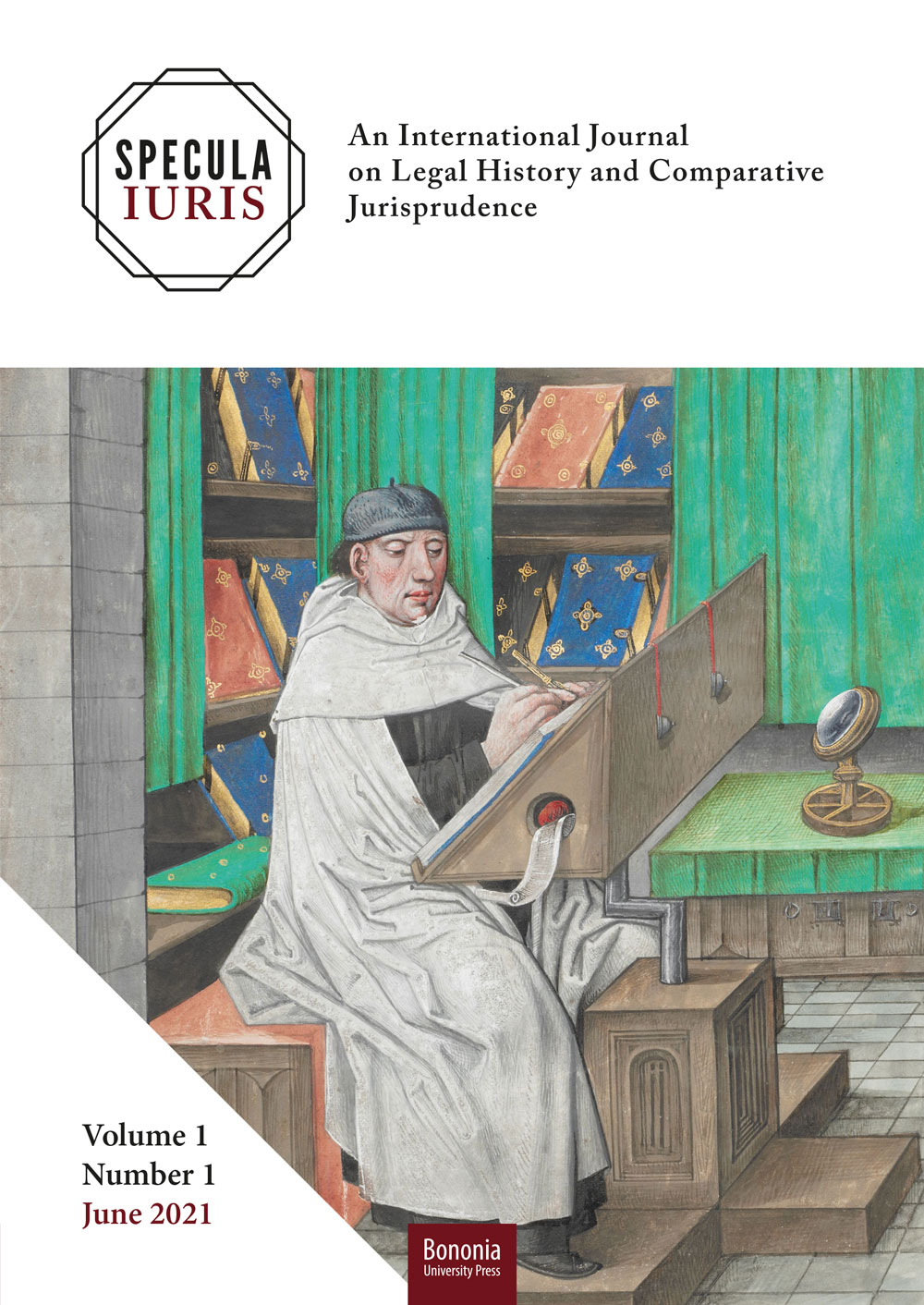 Specula Iuris Vol. 1 Numero 1 (2021) - Bononia University Press