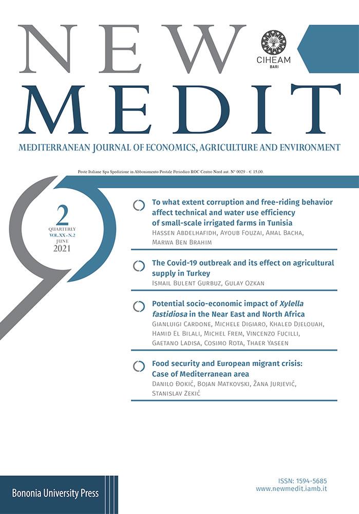 New Medit - Vol. 20 N. 2 (2021) - Bononia University Press