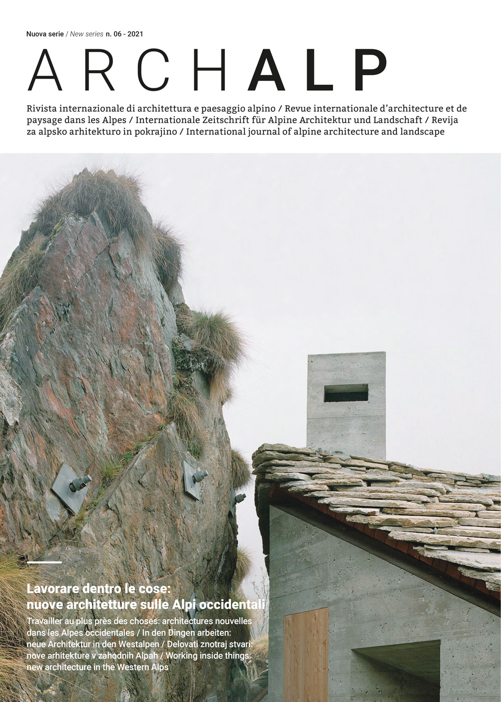 ArchAlp n. 06 - 2021 - Bononia University Press