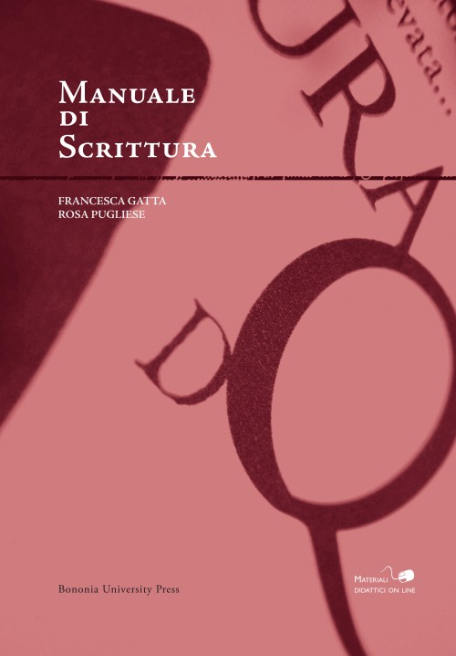 Manuale di scrittura - Bononia University Press