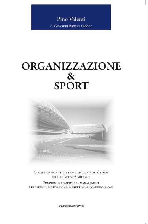 Organizzazione & sport - Bononia University Press