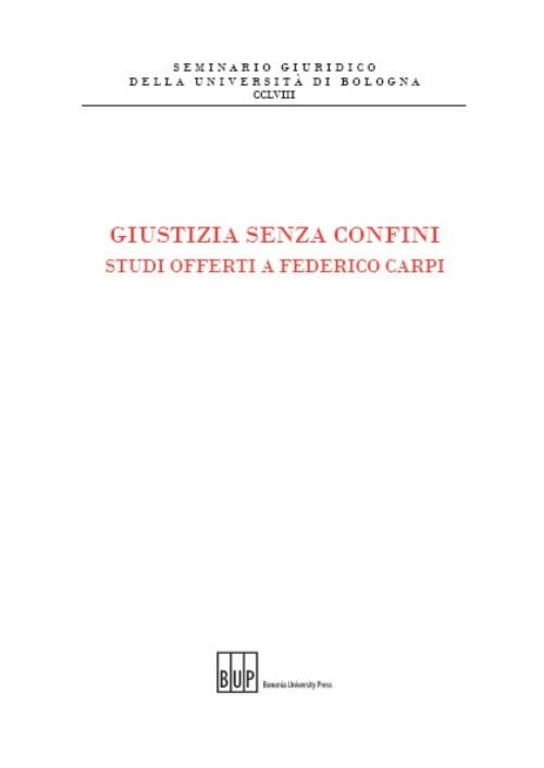 Giustizia senza confini - Bononia University Press